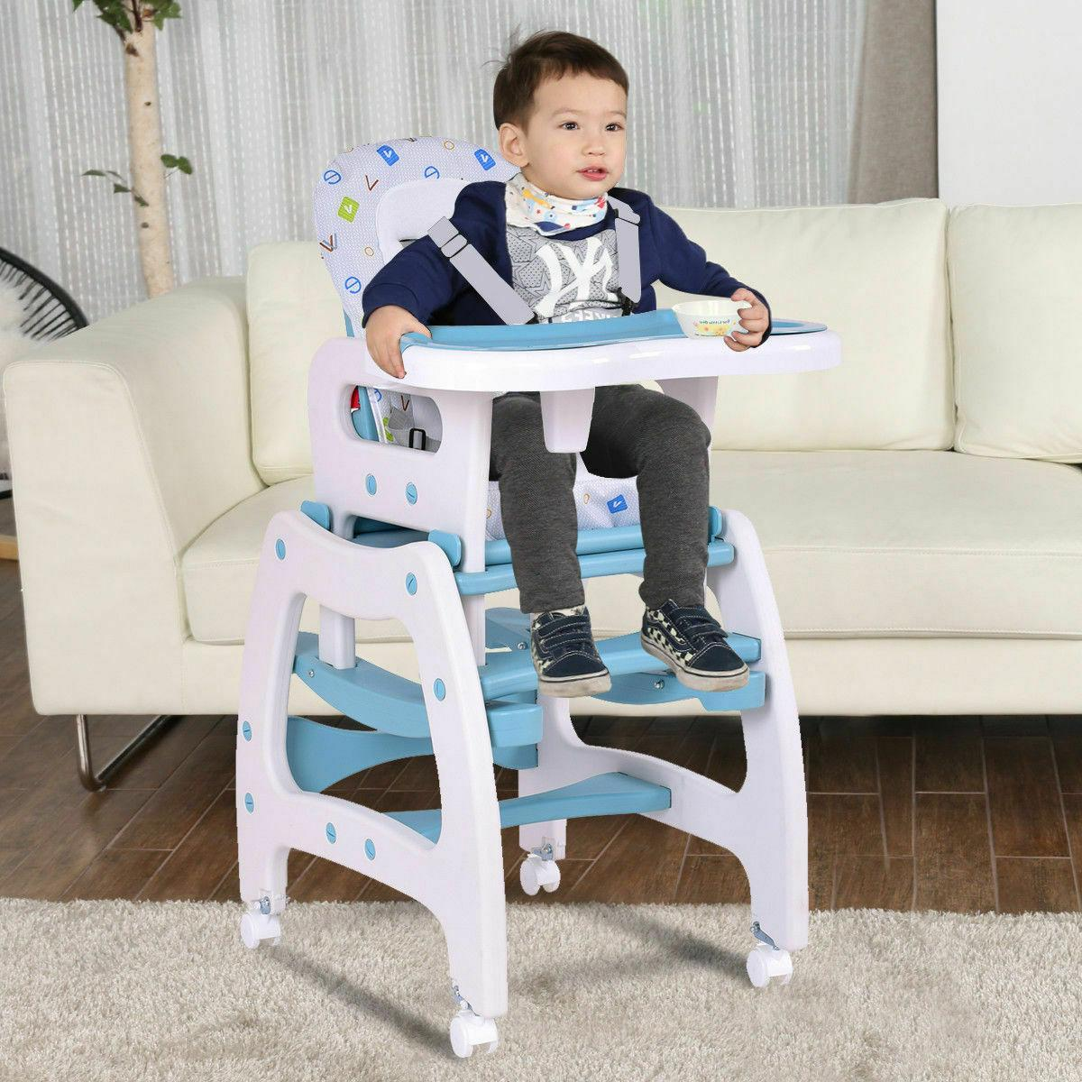High Chair in 1 Baby Table