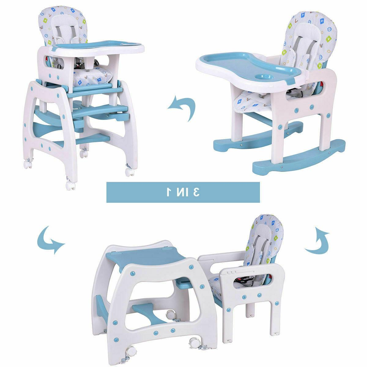 high chair 3 in 1 baby convertible