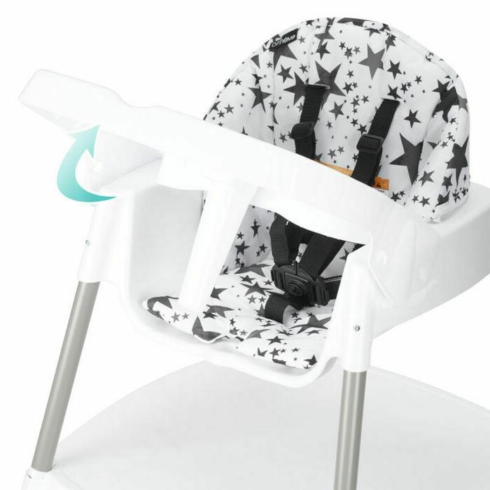 Evenflo High Chair - Gray