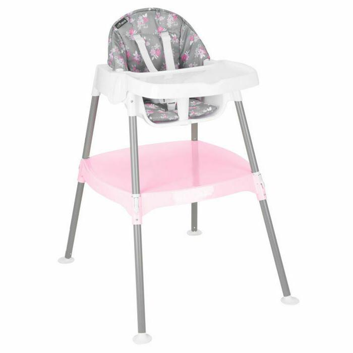 high chair 4 in 1 poppy floral