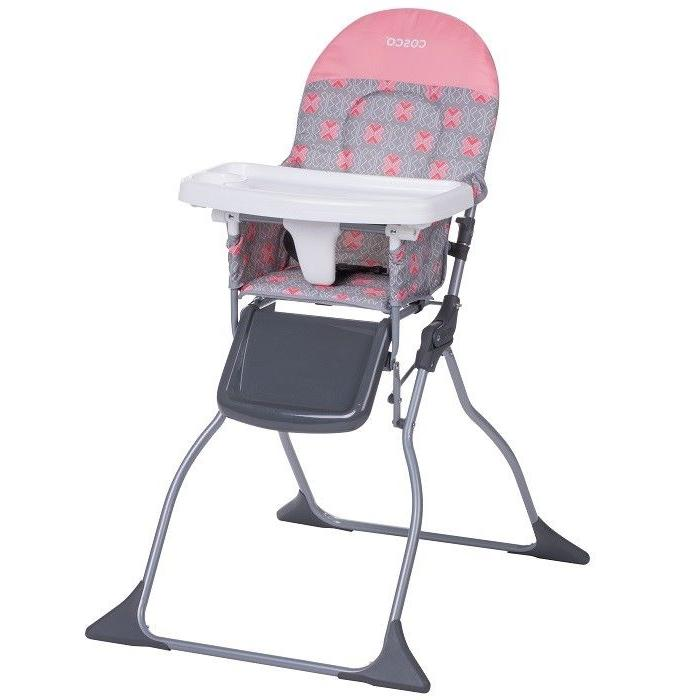 High Chair Baby Infant Foldable Simple Size Adjustable Tray
