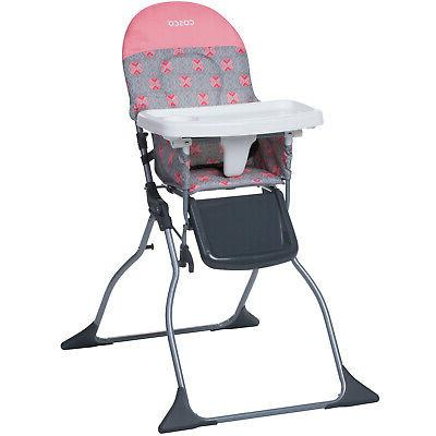 high chair baby toddler infant foldable simple
