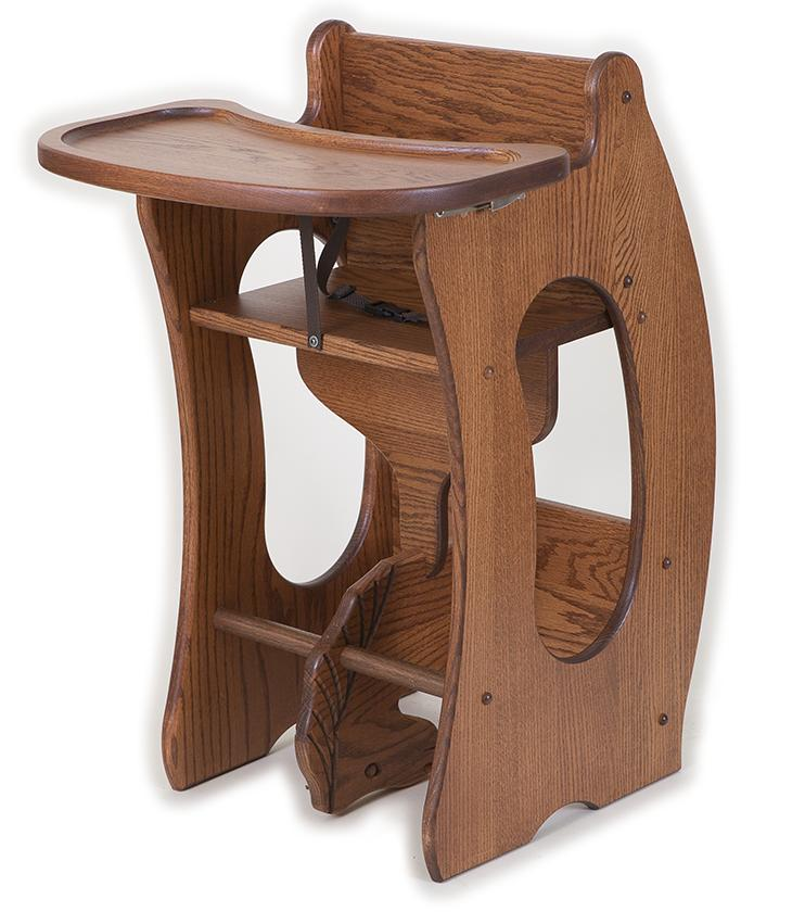 high chair desk rocking horse 3 in