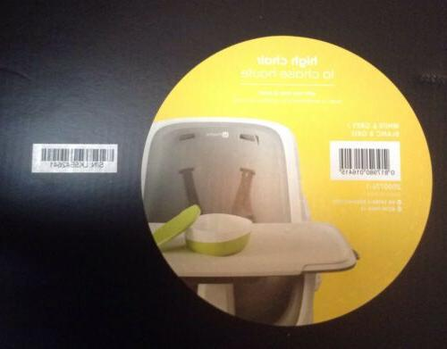 4moms Chair Easy To Clean Magnetic one-handed attachment~