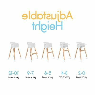 High Chair for Babies and Toddlers With Removable Tray