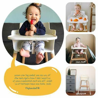 High Chair and Removable Tray Adjustable