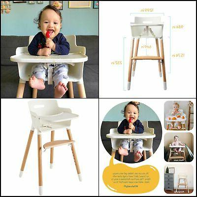 High Chair for Babies and Toddlers With Harness Removable Tr