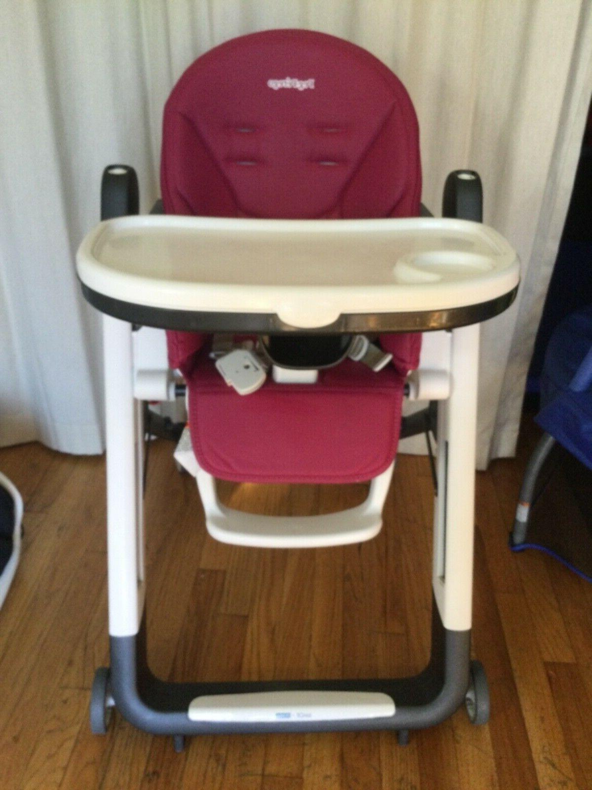 high chair siesta color berry pick up