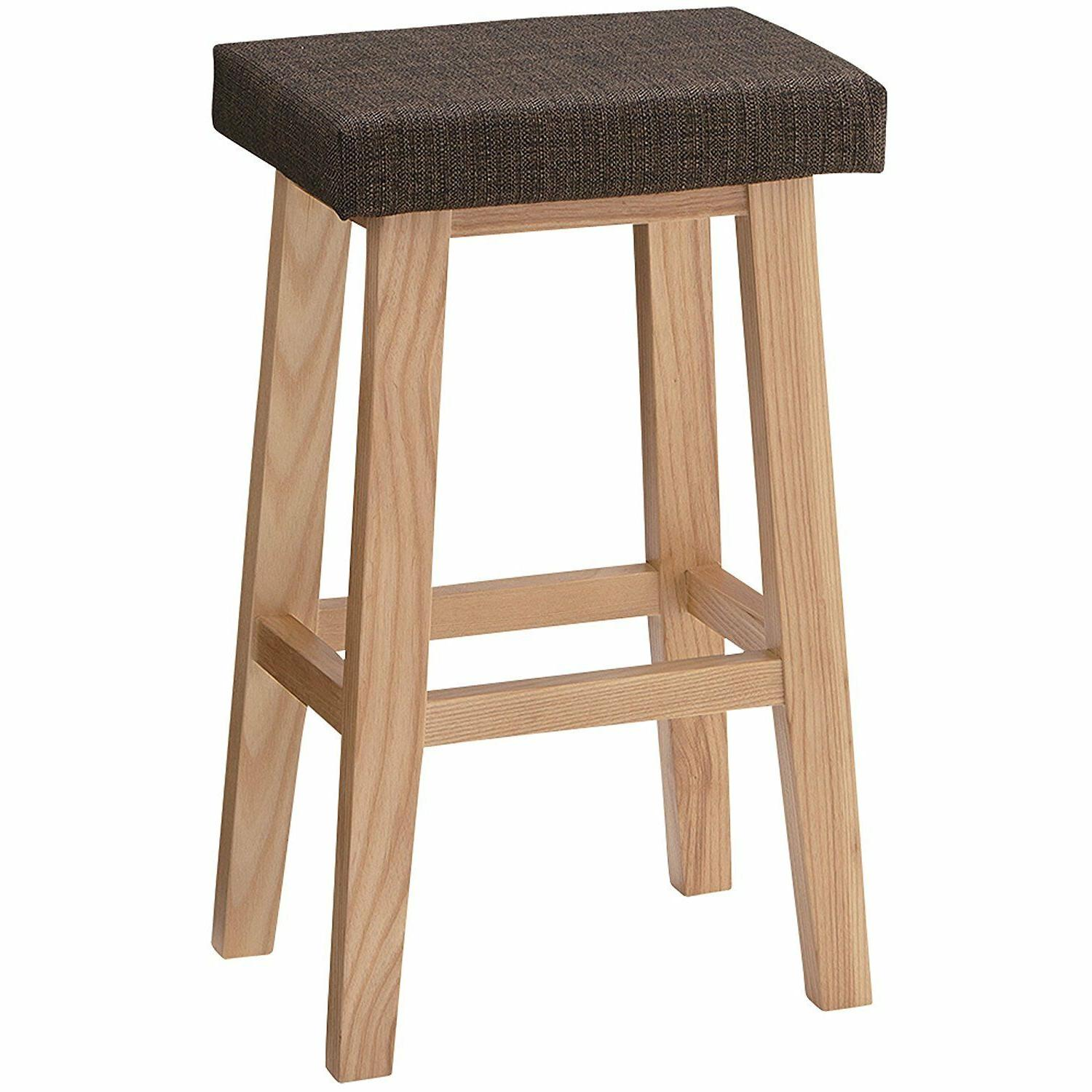 high chair wooden stool cushioned home counter