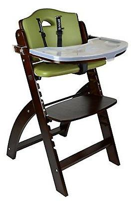 Abiie Highchairs Beyond Wooden High Chair with Tray. The Per