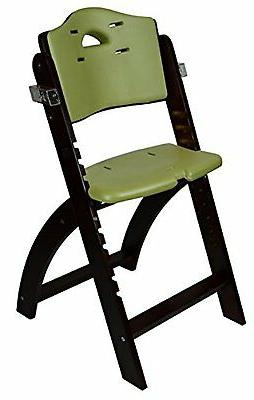 Abiie Highchairs Beyond Wooden High Chair With Tray