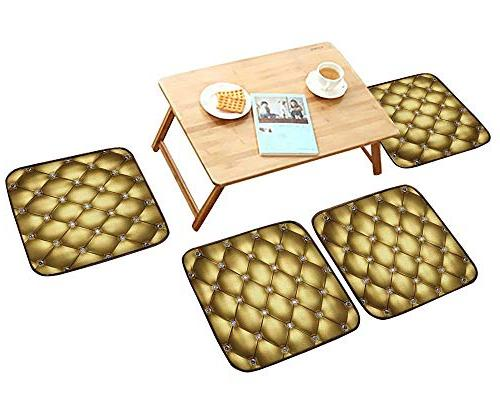 luxurious household cushions chairs golden