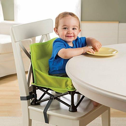 Portable Hook on Green High Chair Baby