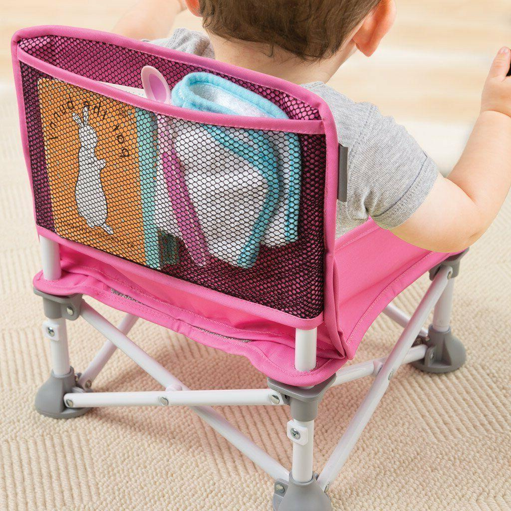 Portable Hook on Pop Pink High Chair Baby