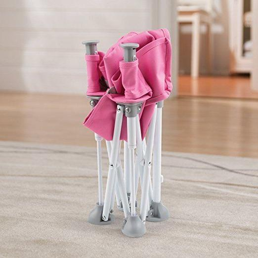 Portable Folding Hook Pink Chair Baby