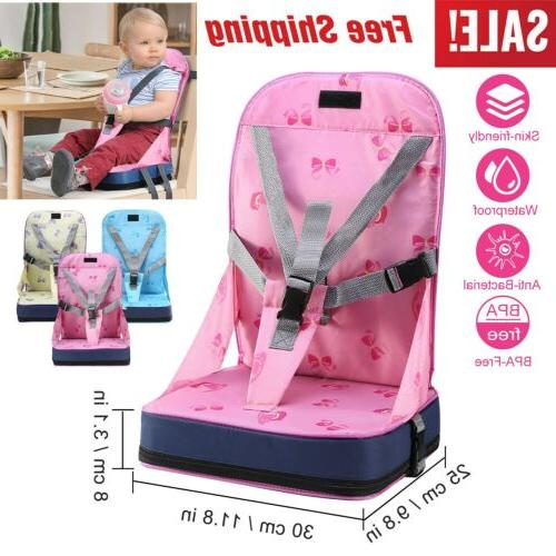 Adjustable Straps Portable High Chair Travel Booster Seat Ha