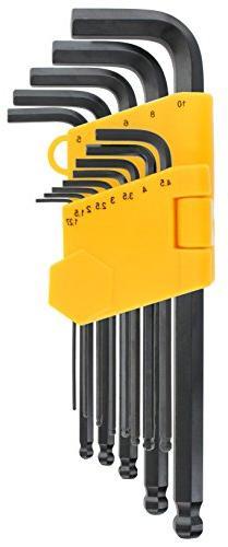 Drixet Long Arm Ball Point Hex Socket Driver Allen Key Metri