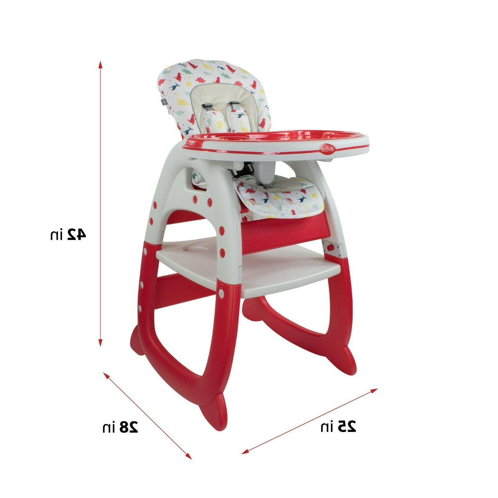 Evezo Chair, Convertible and Feeding