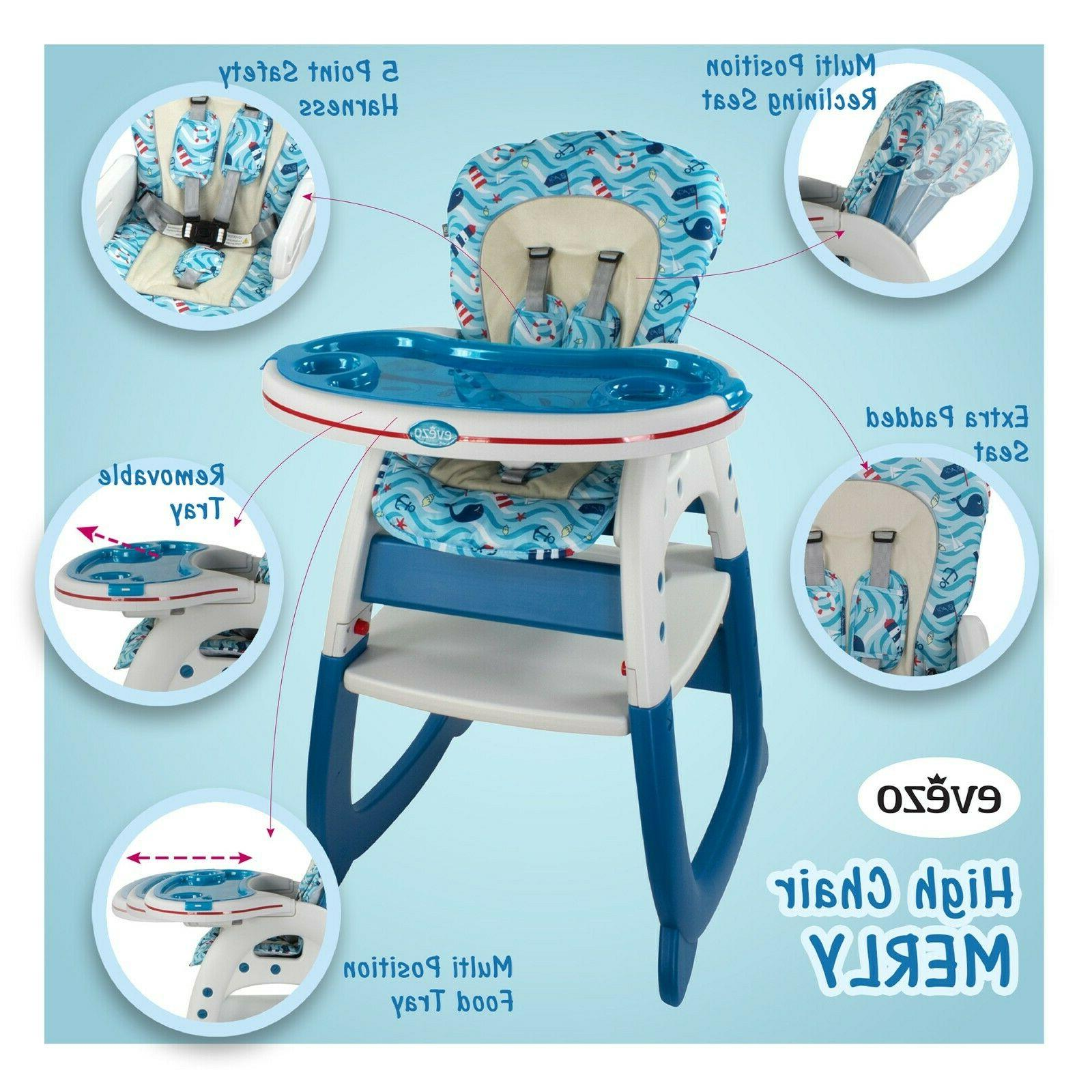 Evezo Chair, Play and 3-in-1