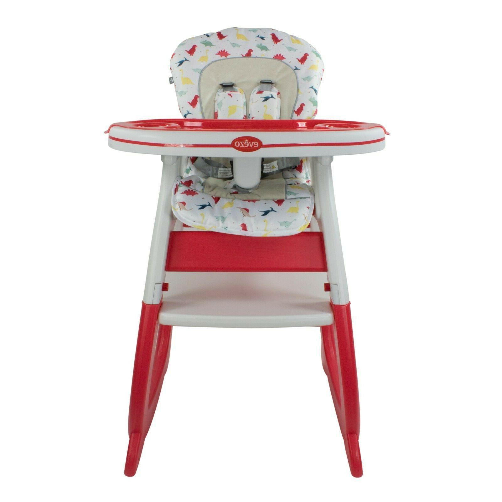 Evezo Baby High Chair, Table and Feeding