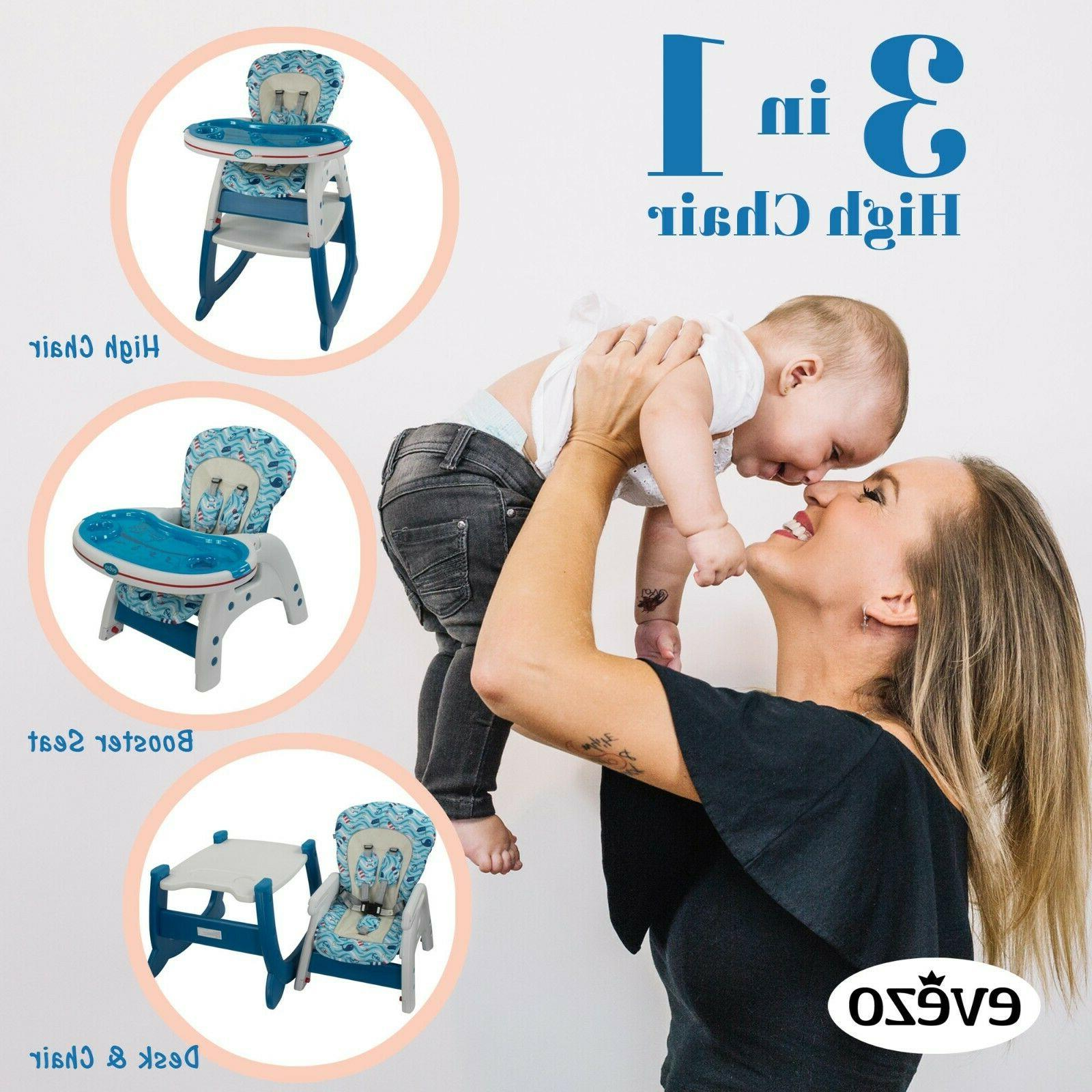 Evezo Merly Baby Chair, Convertible and Feeding