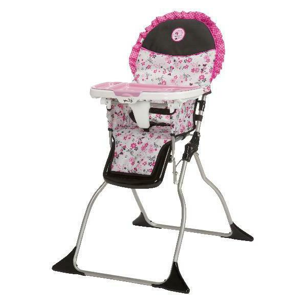 minnie mouse simple fold plus high chair