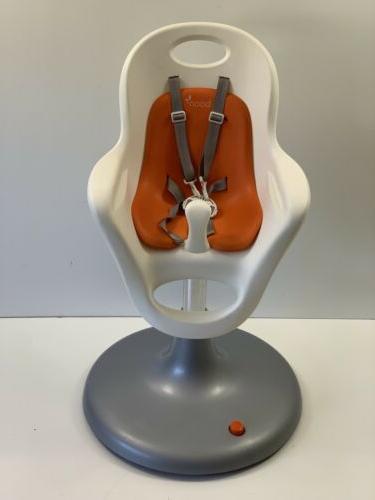 Nearly $250 Boon Flair Pneumatic High Chair White Orange