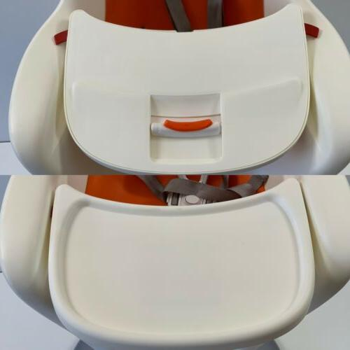 Nearly $250 Flair High Chair Orange