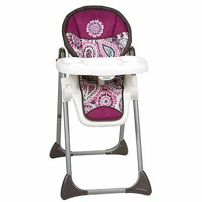 Baby Trend Sit Right High Chair, Paisley tHigh Chair Toddler
