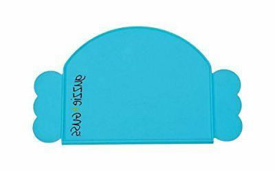 new guzzie guss perch silicone placemat blue