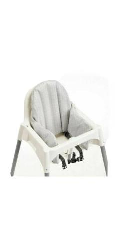 New IKEA KLAMMIG Baby Child High Chair Inflatable Cushion co