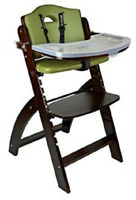 NEW Abiie Mahogany Olive Beyond Junior Y High Chair