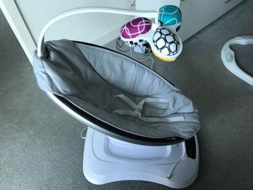 NEW Mamaroo Infant Seat Rocker Bouncer 2018 Grey