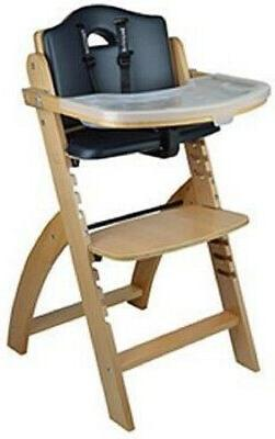 NEW Abiie Natural Black Pearl Beyond Junior Y High Chair