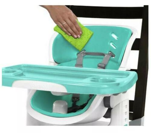 NEW SmartClean High Chair Green