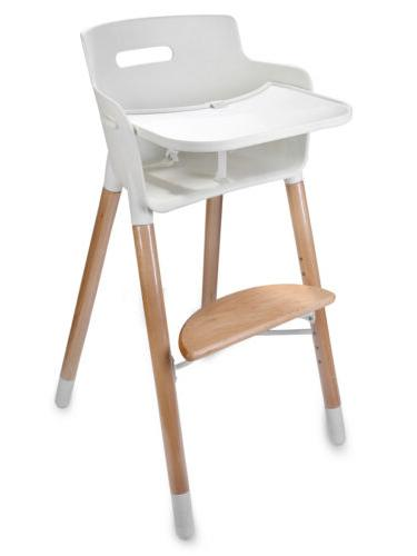 Newest Wooden Adjustable Safety Baby Highchairs with for