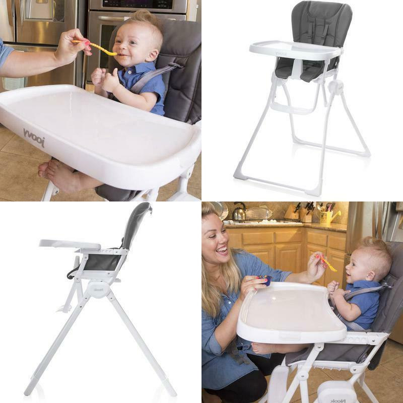 nook baby high chair charcoal walmart com