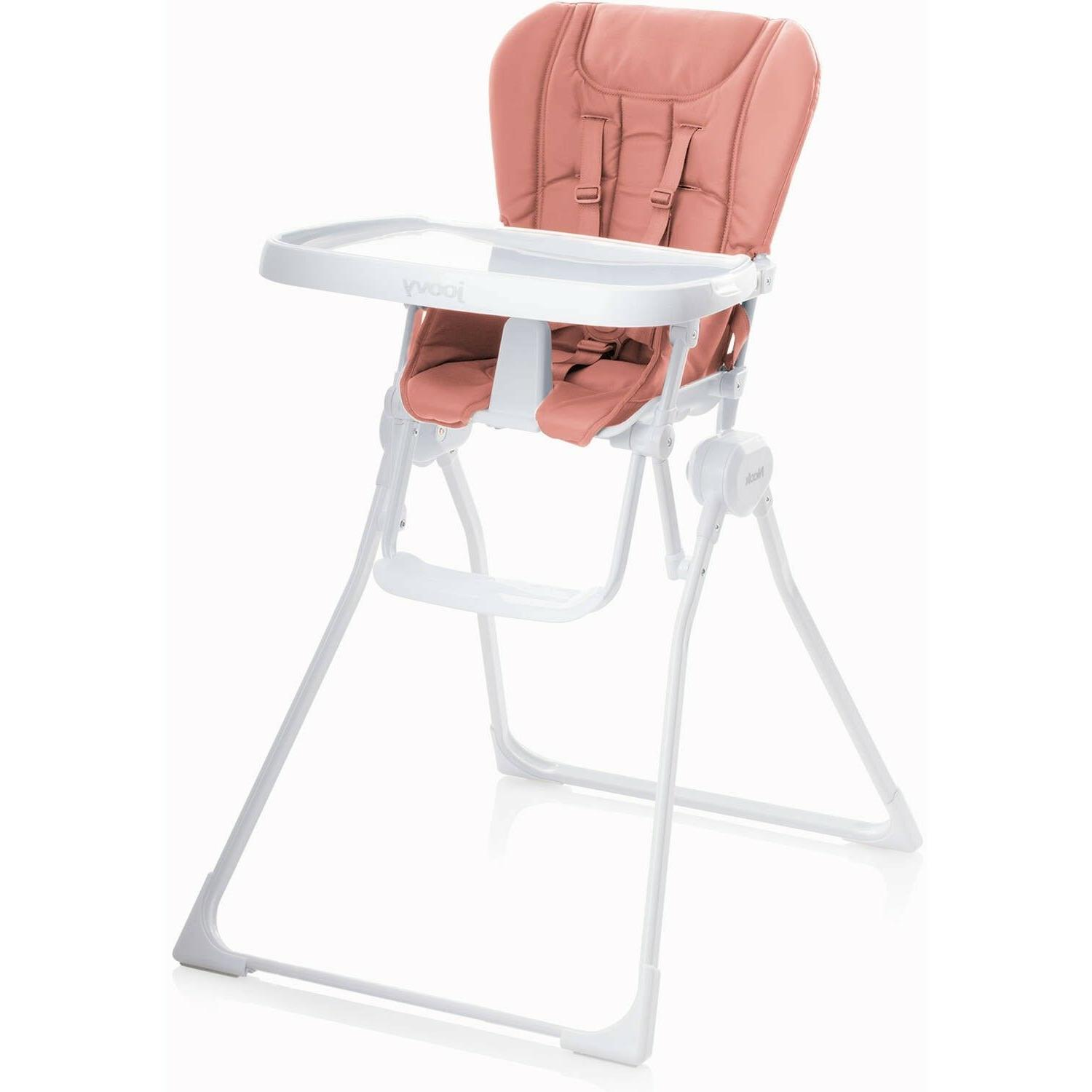 Joovy Nook High Chair Coral Baby Weight 50 And 4 Adjustable