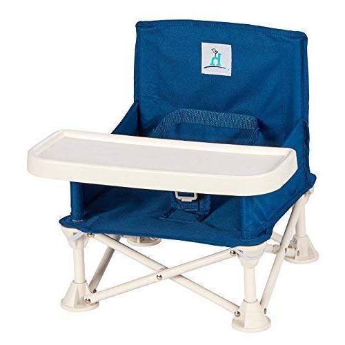 hiccapop Omniboost Travel Seat Baby High Chair Camping, Beach, Grandma's | Straps to Kitchen Go-Anywhere Chair