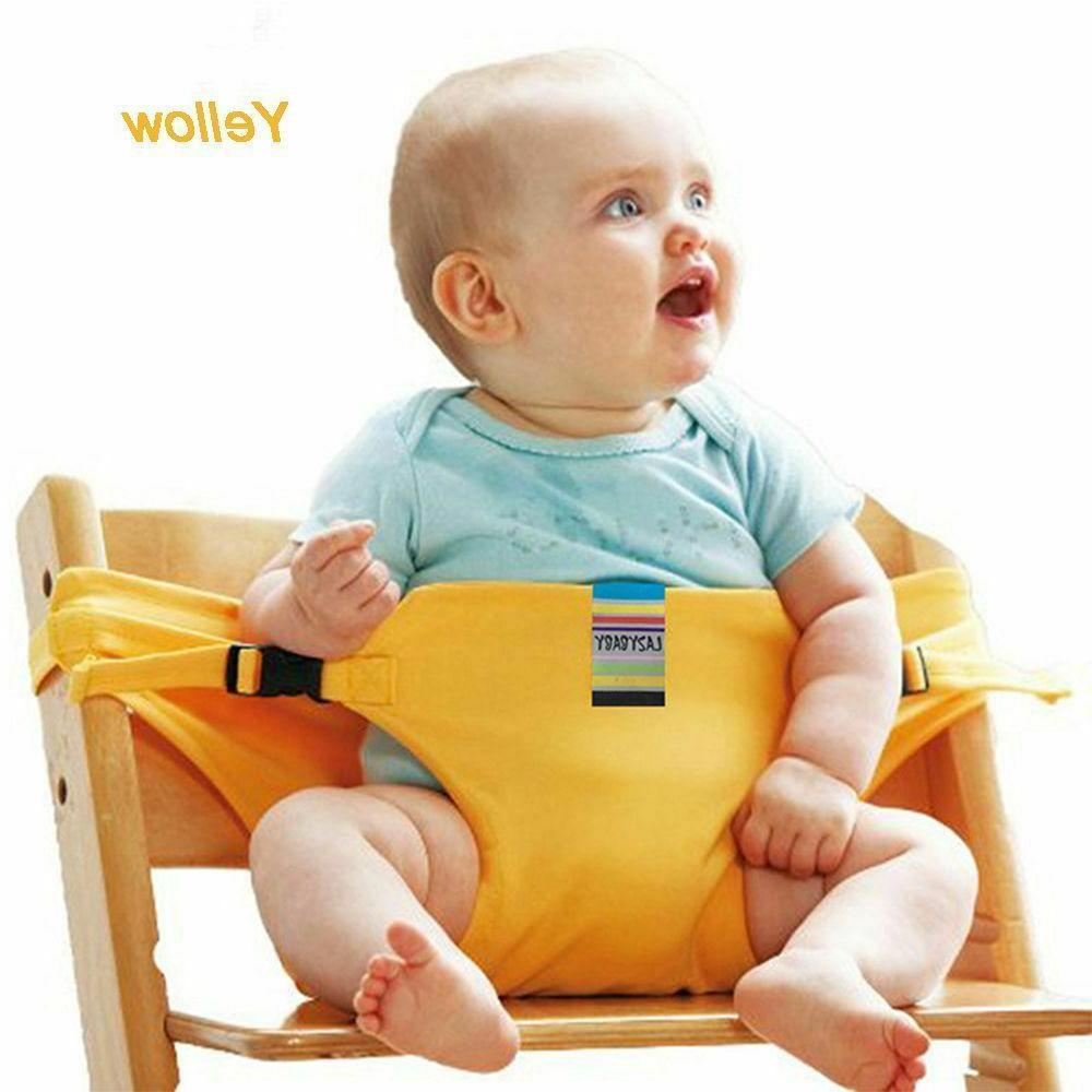 Portable Baby Feeding Belt Chair Safety Belt Trolley Cover