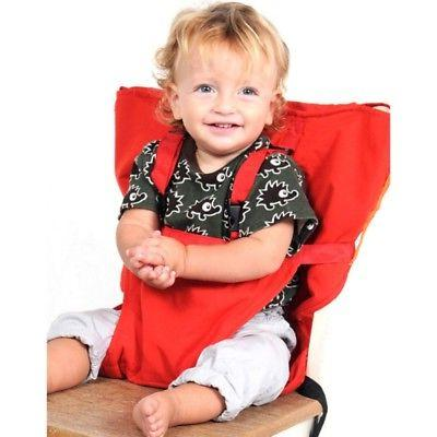 Portable Baby Chair Harness Home Dining Feeding Belts