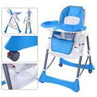 Portable Baby High Chair Infant Toddler Feeding Booster Fold