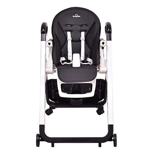 Portable Baby Feeding Booster Safe Folding High Coffee