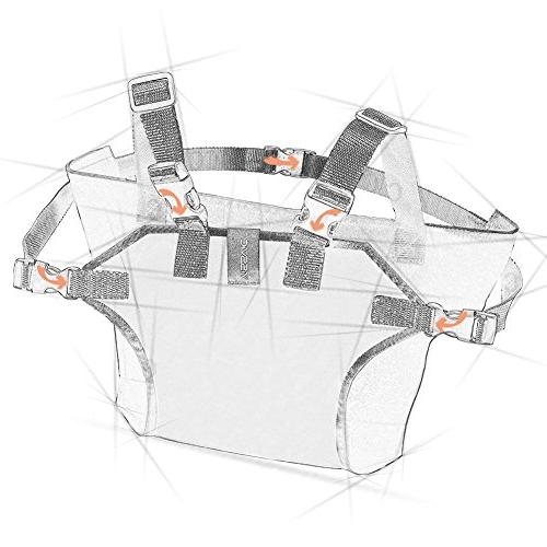 Seat with Child Chair Belt Outdoor Portable Travel High Chair Booster