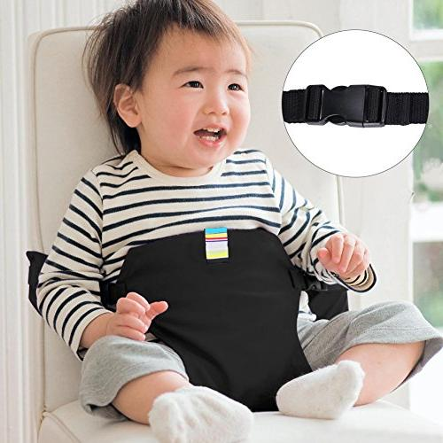 YISSVIC Feeding Chair Belt Chair Soft Belt Portable Travel High Chair Booster Baby Seat