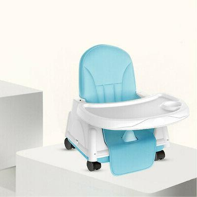 HIGH BABY Booster Infant Tray Folding