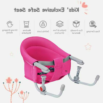 Portable Baby Hook On Clip Chair Fast Table Seat