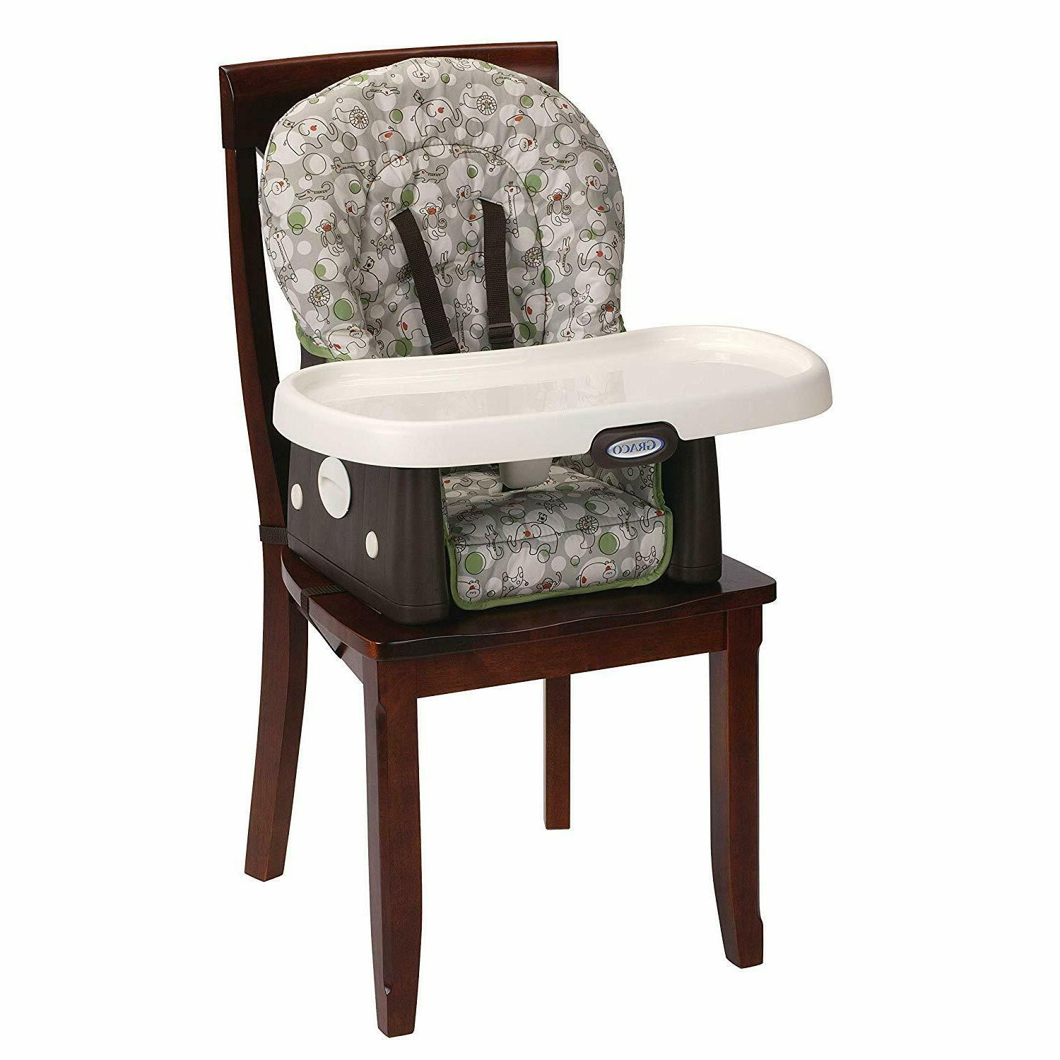 Portable High Chair 3 Position Machine Washable Seat