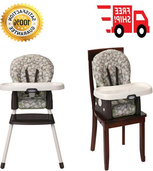 portable high chair 3 position reclining machine