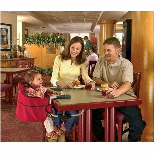 Portable On Seat Travel Booster Toddler